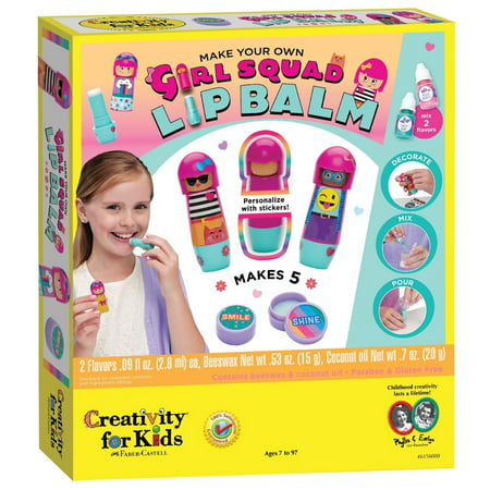 Girl Squad Lip Balm - Craft Kit by Creativity for Kids (Pinterest Halloween Crafts For Kids)
