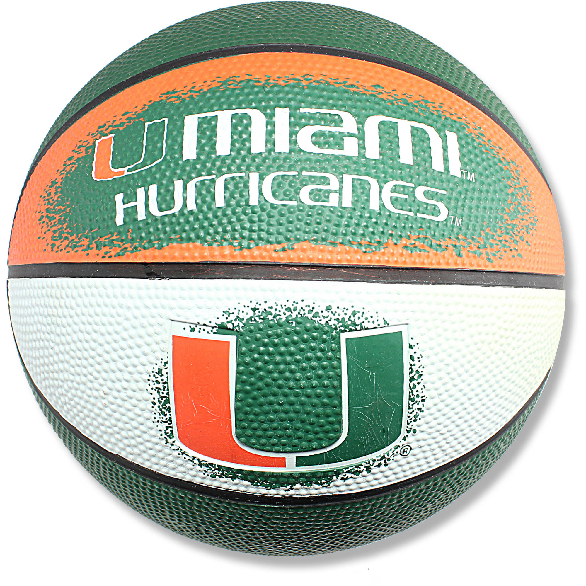 "Game Master NCAA 7"" Mini Basketball, University of Miami Hurricanes"