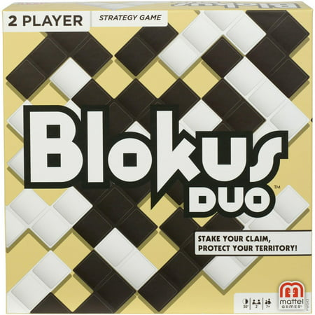 Blokus Duo Strategy Fun Board Game for 2 Players Ages 7Y+