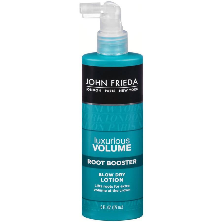 John Frieda Luxurious Volume Root Booster Blow Dry Lotion, 6 fl oz