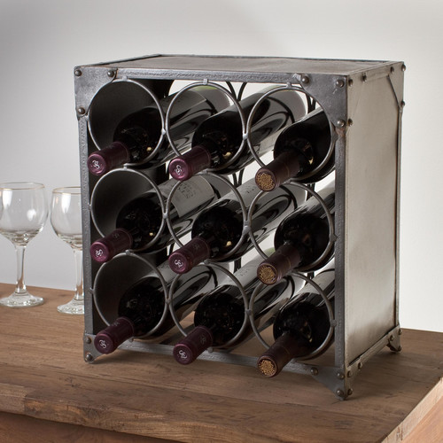 Wildon Home  9-Bottle Wine Rack