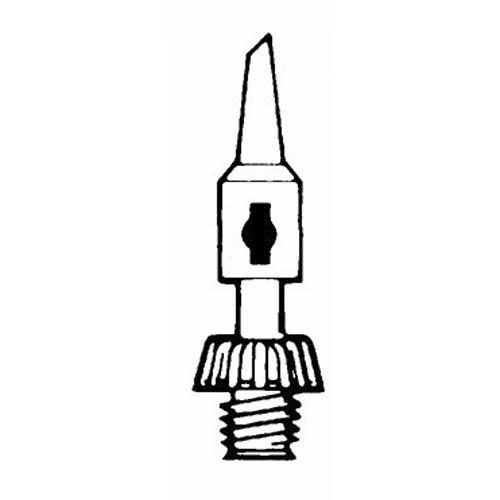 "Weller T2 .090"" Spade Tip for P1C and P1KC Portasol Butane Soldering Irons"