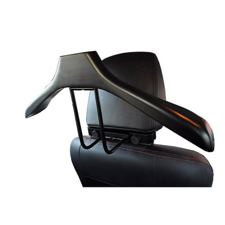 VL16762 Sierra Car Valet, Solid Wood in Black Color, Fits in Head Rest Support (Best Car Valeting Products)