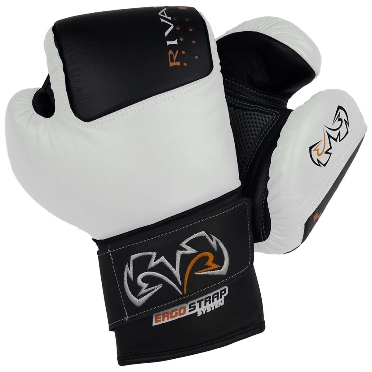 Rival Boxing Bag Gloves RB50 Black Intelli-Shock Compact