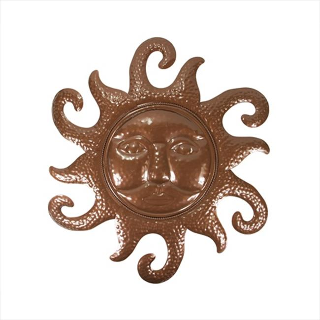 NorthLight 20. 5 inch Chocolate Brown Sunshine Indoor & Outdoor Wall Decoration