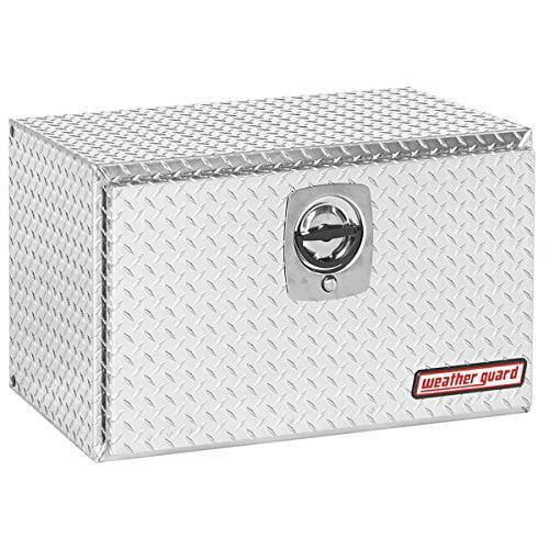 Weather Guard (631002) Underbed Tool Box, Aluminum