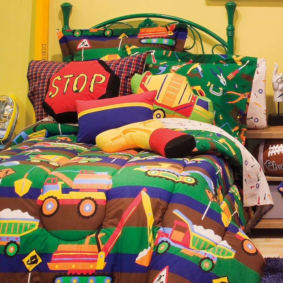 Tylers Toychest Reversible Complete Bedding Set