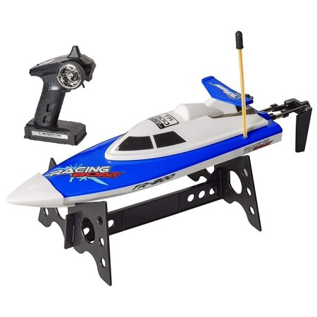 "Top Race Remote Control Water Speed Boat, Perfect Toy for Pools and Lakes ""Blue"" 27Mhz (TR-800) (Best Remote Control Boat For Pools)"