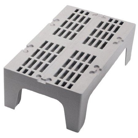 Cambro DRS30131 Solid Top S-Series Dunnage Rack,  1500 Lb. Load Capacity, 21D X 30W X 12 H, Polypropylene, Dark Brown, NSF