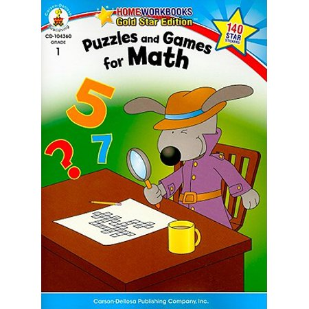 Puzzles and Games for Math, Grade 1 : Gold Star Edition](Halloween Math Games For 2nd Grade)
