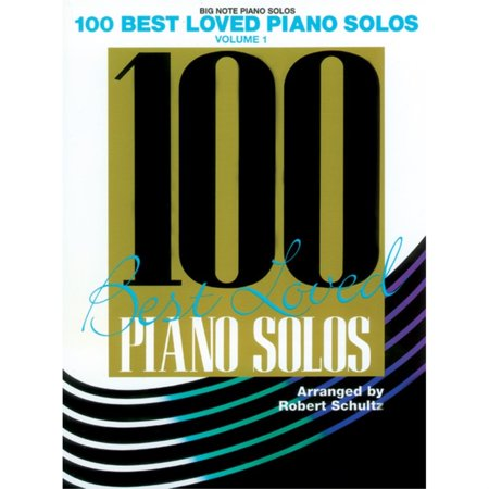 Alfred 00-AF9917 100 Best Loved Piano Solos- Volume 1 - Music