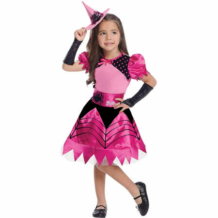 Barbie Witch Child Halloween Costume - 1980s Barbie Halloween Costume
