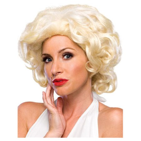 Adult's Marilyn Monroe Platinum Blonde 50s Costume Wig
