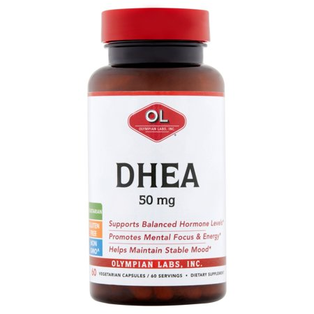 Olympian Labs végétarienne Capsules DHEA, 50 mg, 60 count