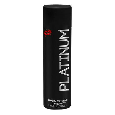 Wet Platinum Silicone Lubricant - 9.0 oz