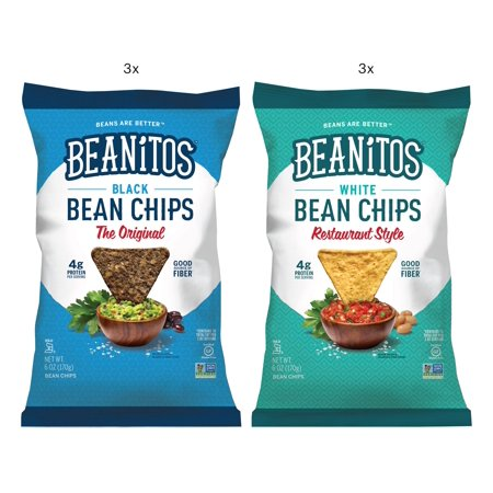 - Beanito's Basic Beans Variety Pack, 5.5 oz, 6 Bags