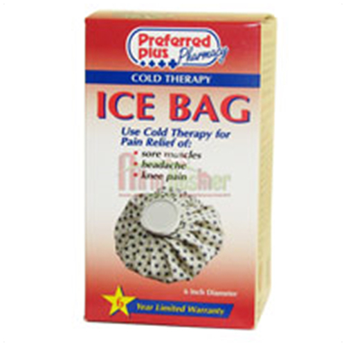 Cold Therapy Ice Bag English Cara, 6 Inches Diameter - 1 Ea
