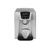 Frigidaire EFIC227-SILVER Compact Ice Maker and Water Dispenser, Silver - Manufacturer Refurbished
