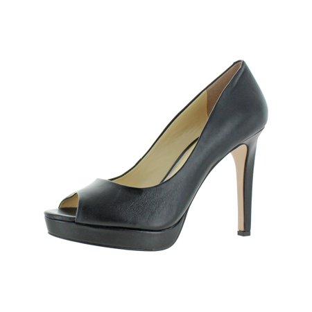 Jessica Simpson Womens Dalyn Dressy Peep-Toe Heels