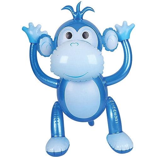 Inflatable Blue Monkey