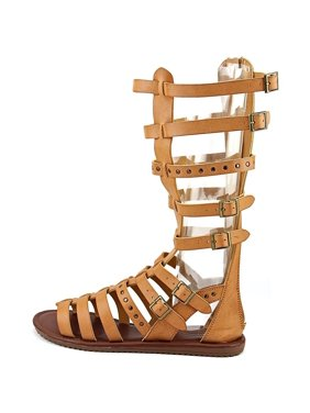 76e710600ac1 Product Image Womens Seven Dials Sarita Knee-High Gladiator Sandals