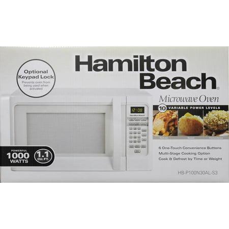 Hamilton Beach 1 1 Cu Ft Digital Microwave Oven