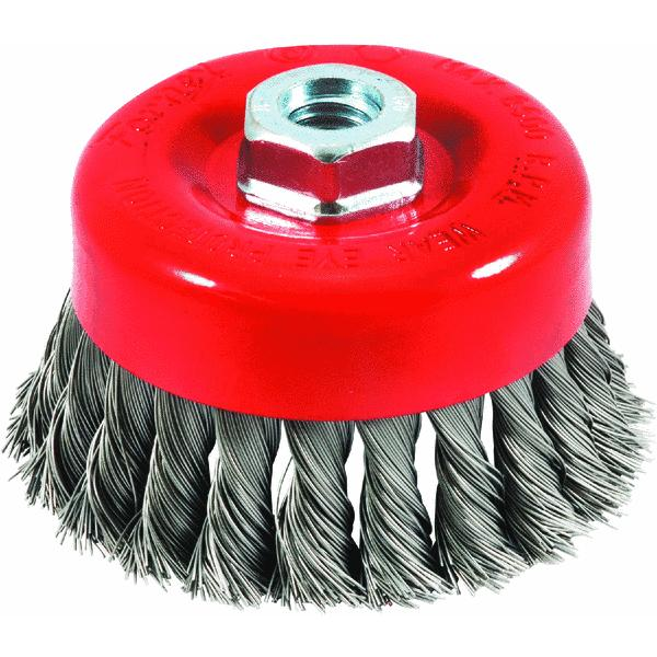 Forney Cup Angle Grinder Wire Brush