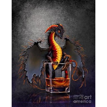 Fantasy Rum Dragon Collectible Figurine Drinks & Dragons Collection by Stanley Morrison 6.75