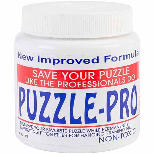 Pinepro Puzzle Pro Jigsaw Puzzle Glue, 4 oz