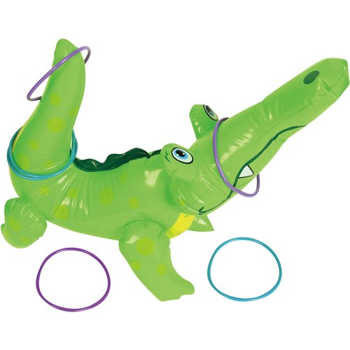22`` Inflatable Alligator Ring Toss Game