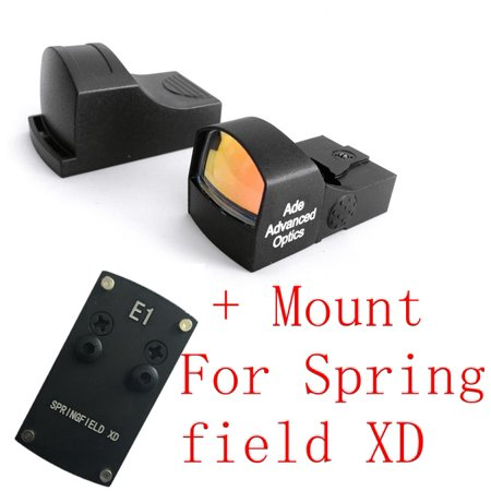 Ade Advanced Optics Compact MINI Red Dot Reflex Sight Pistol for Springfield XD](Red Rose Springfield)