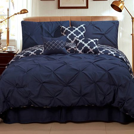 Solid Blue Baby Bedding Sets