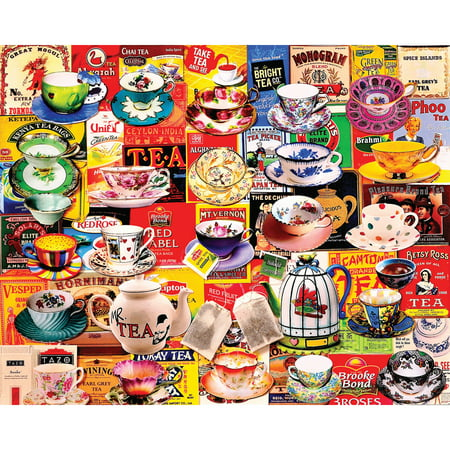 Jigsaw Puzzle 550 Pieces 18 Quot X24 Quot Tea Please