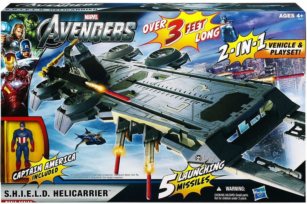 Avengers Shield Flying Fortress Play Set by Hasbro, Inc