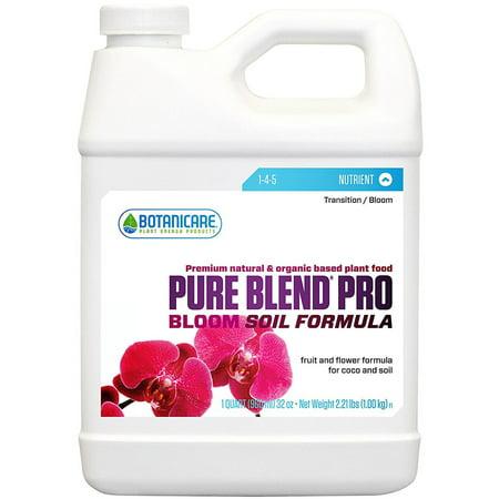 Botanicare Pure Blend Pro Soil for Plants, 1-4-5, 1-Gallon [1 Gallon]