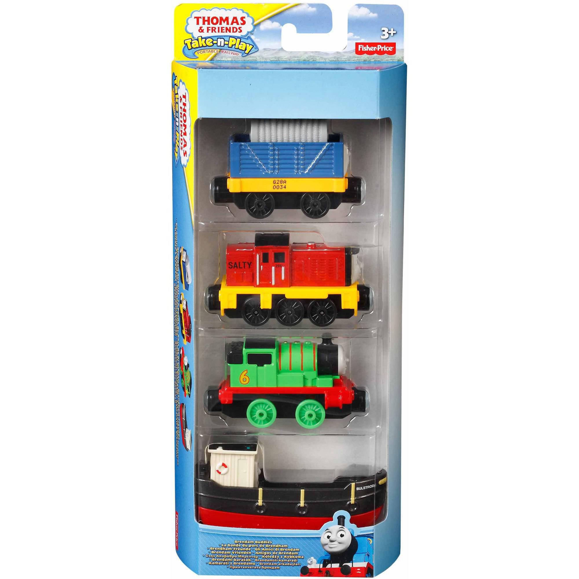 Thomas & Friends Take-n-Play Dieselworks Fix-Up