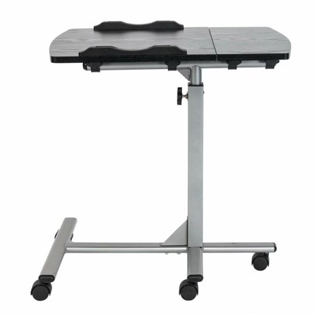 Height Adjustable Standing Laptop Desk Ergonomic Workstation with Removable Computer Desk for Home and Office