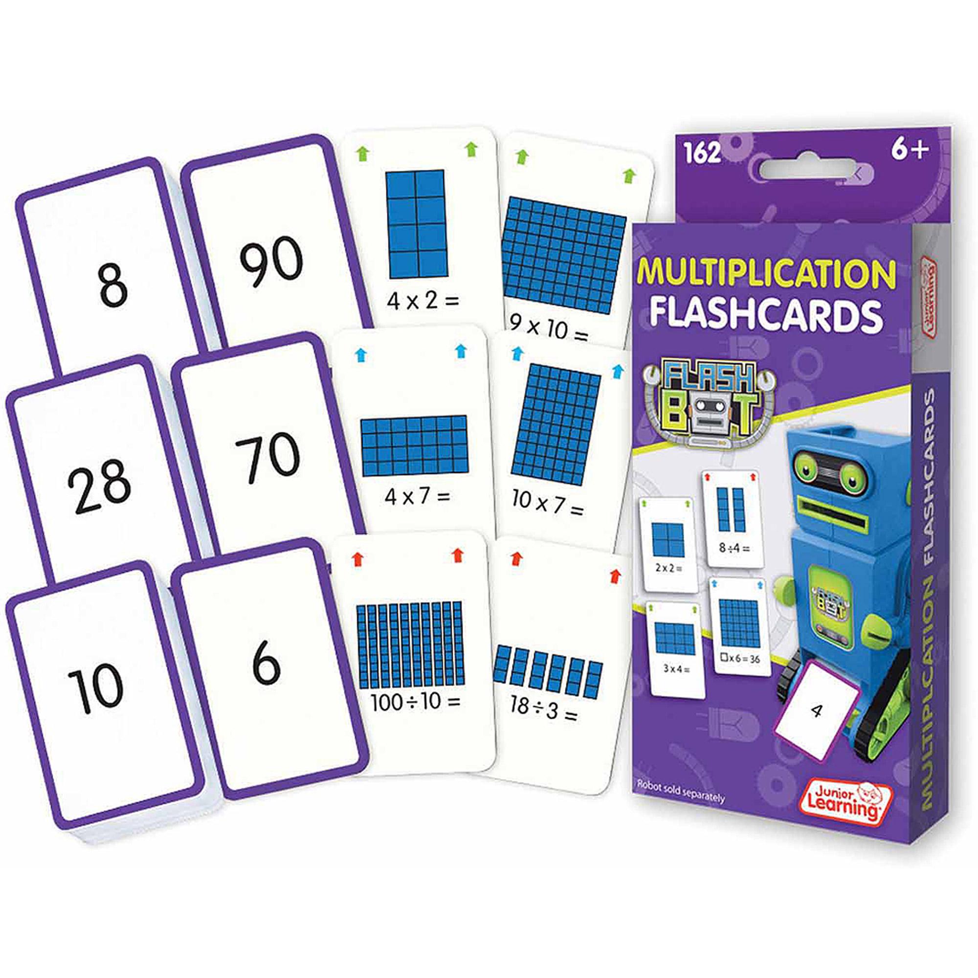 Junior Learning Multiplication Flashcards