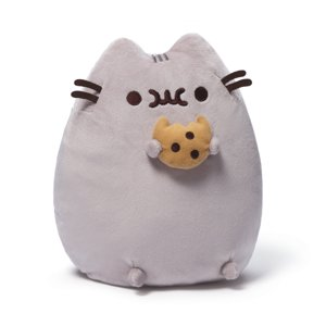 "Pusheen with Cookie 9.5"" Plush Toy"