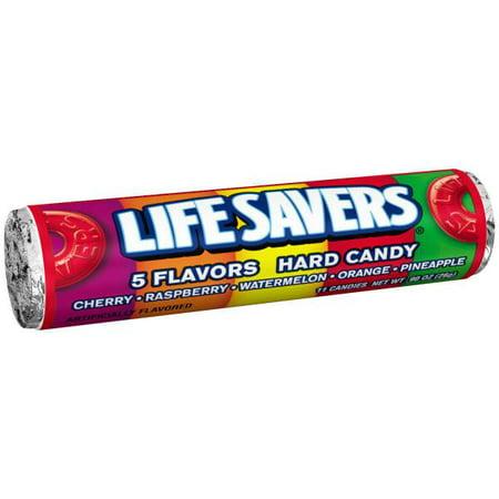 LifeSavers 5 Flavor Hard Candy - 20 rolls per box, 15 boxes per case