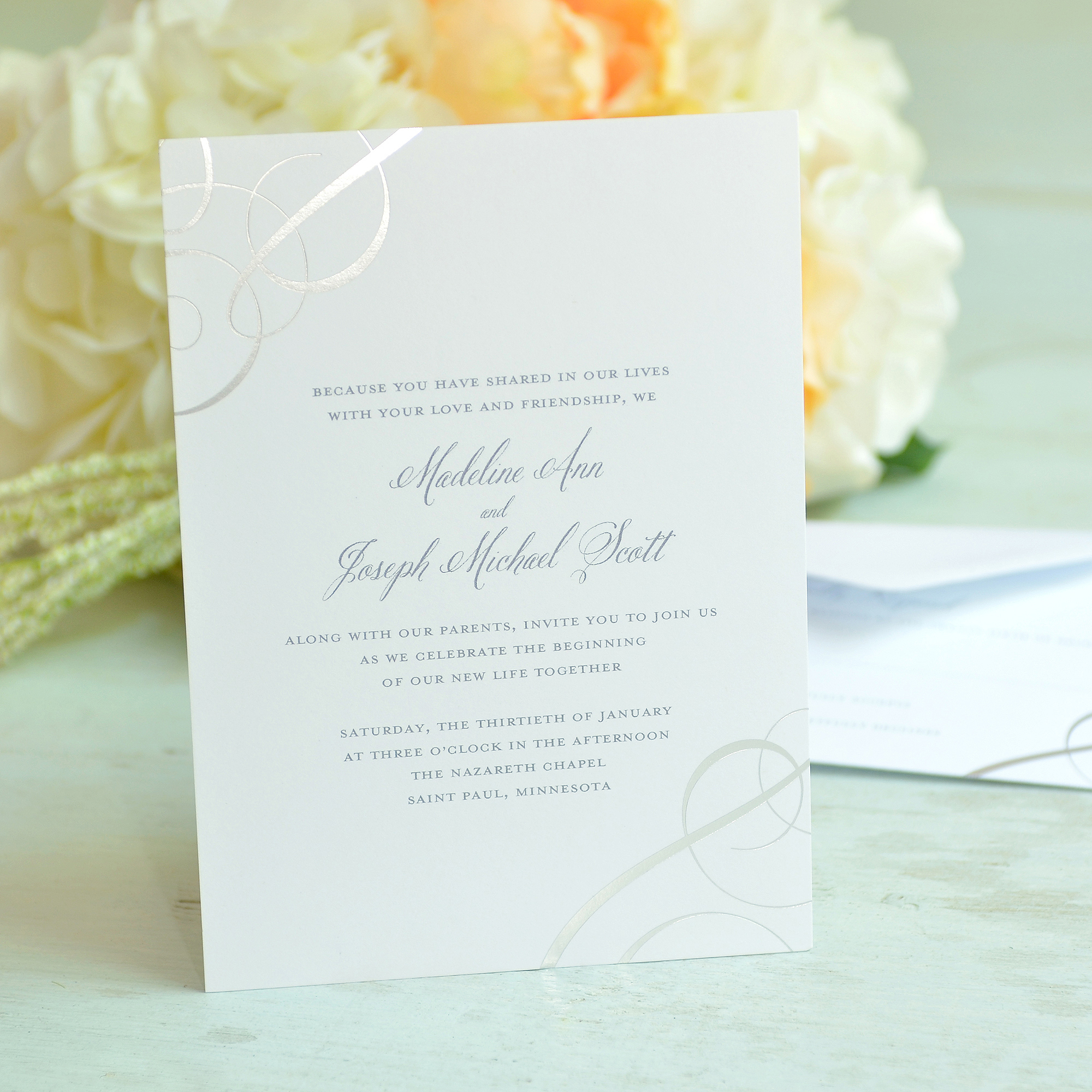 Gartner Studios Swirl Invitation
