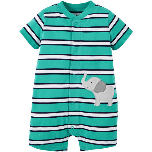 Child Of Mine By Carter's Newborn Baby Boy Romper