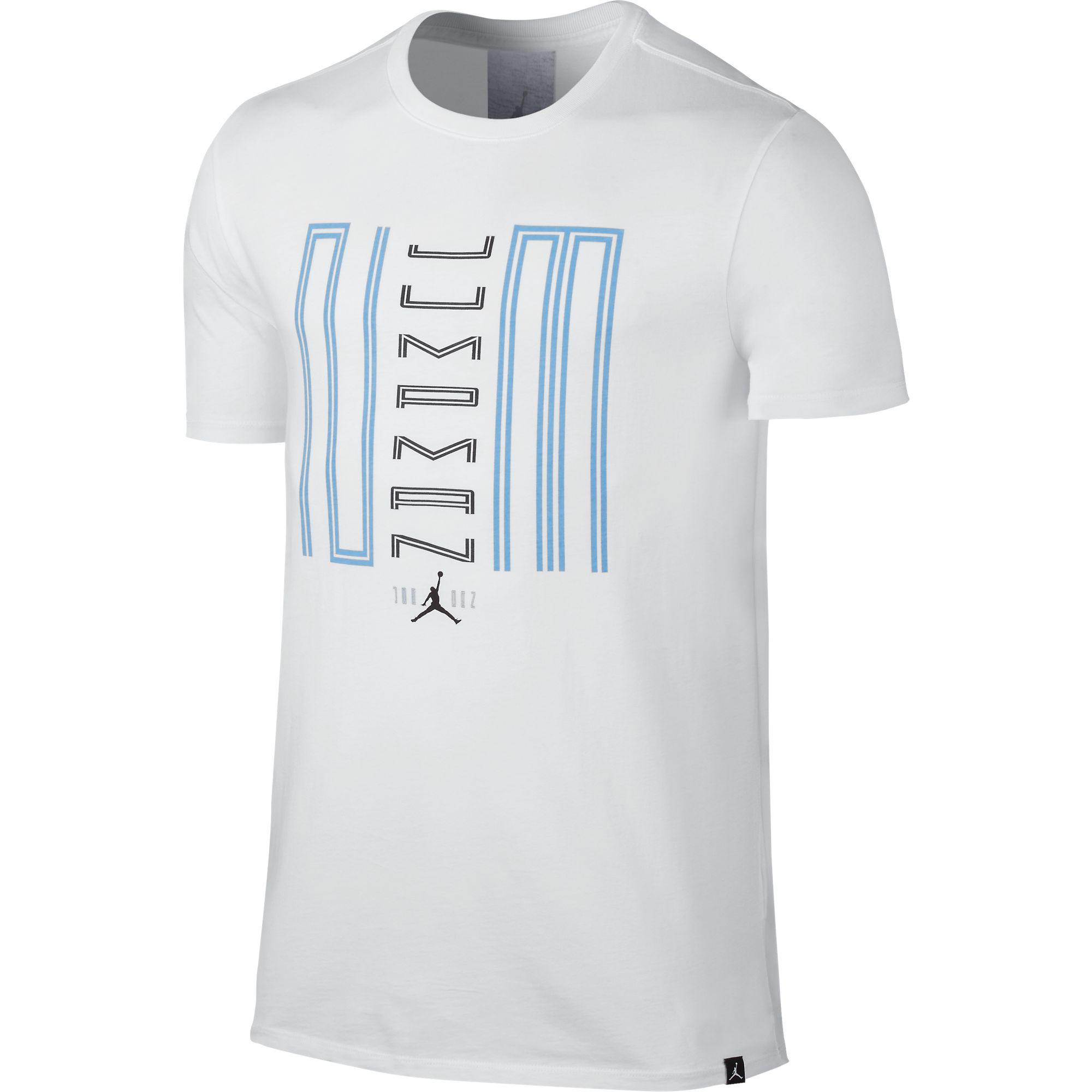 Nike 11 Jumpman 23 Men's Sportswear Casual T-Shirt White/...