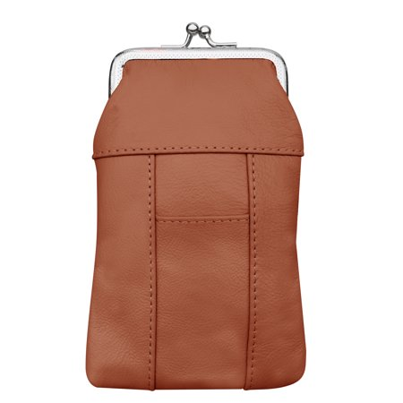 Womens Leather Cigarette Case and Lighter Holder in Choice of Colors By Improving Lifestyles (LIGHT (Women's Cigarette Holder)
