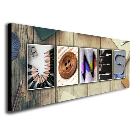 Craft & Scrapbooking Name Art - Personalized