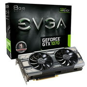 EVGA GeForce GTX 1070 8GB FTW DT GAMING ACX 3.0, w/ Adjustable RGB LED Graphics Card 08G-P4-6274-KR