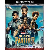 Black Panther (4K Ultra HD + Blu-ray + Digital Code)