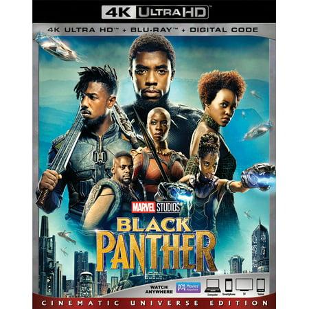 Black Panther (4K Ultra HD + Blu-ray + Digital