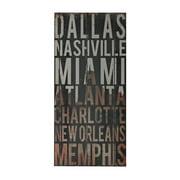 """Sterling Industries 51-10116 32"""" x 15"""" Art Prints - American Cities III"""