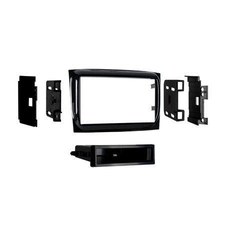 99-6531HG 2015- Ram Promaster City Vehicles Single-DIN Radios Dash Kit (High Gloss Black), Installation Dash Kit for Single and Double DIN Head units For.., By